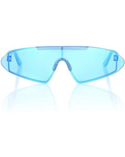 Niebieski okulary przeciwsłoneczne przeoczenie Acne Studios