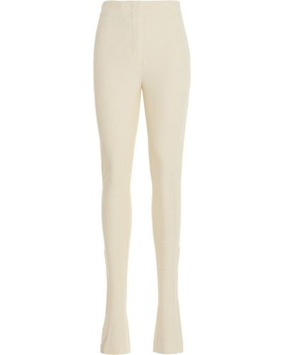Spodnie - białe Jacquemus