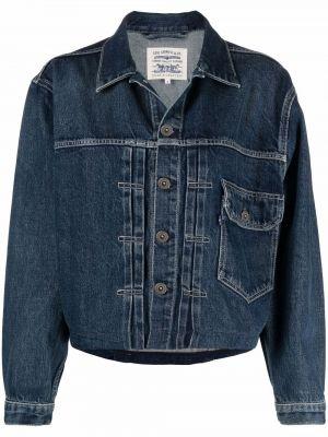 Хлопковая джинсовая куртка - синяя Levi's®  Made & Crafted™