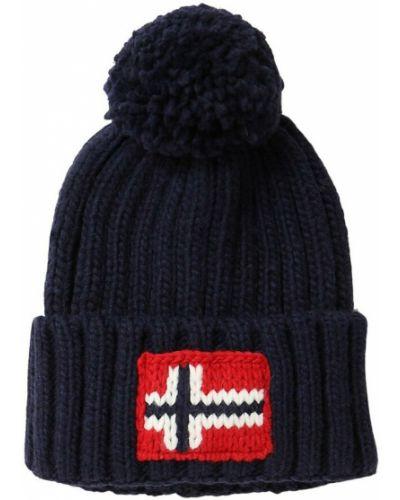 Niebieski kapelusz Napapijri