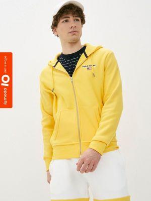Желтая толстовка Polo Ralph Lauren