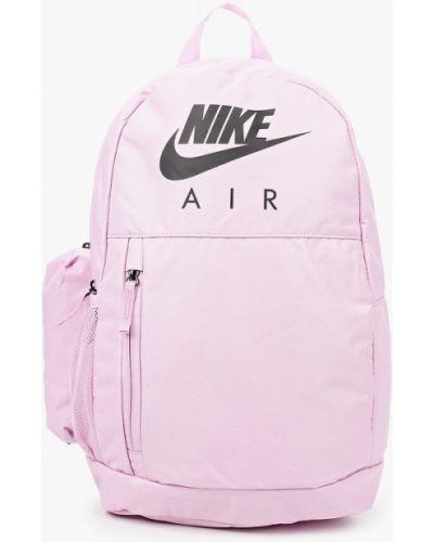 Текстильный розовый рюкзак Nike