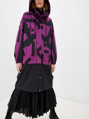 Фиолетовый плащ осенний Kenzo