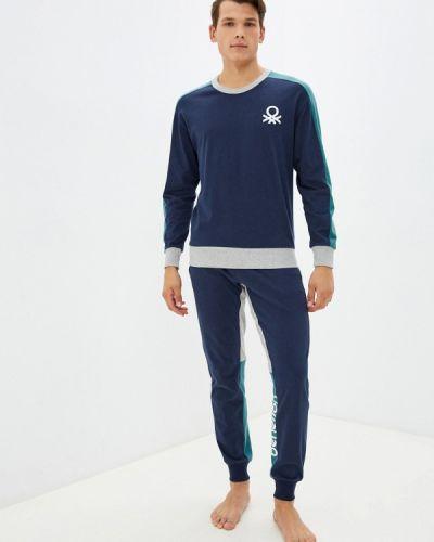Пижама - синяя United Colors Of Benetton
