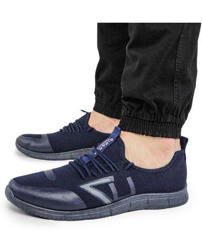 Текстильные кроссовки - черные Gipanis