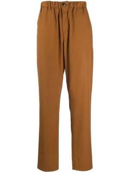 Коричневые брюки свободного кроя с поясом на пуговицах A Kind Of Guise