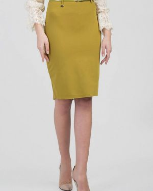 Зеленая юбка узкого кроя Das