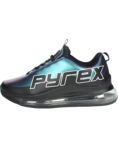 Czarne sneakersy Pyrex