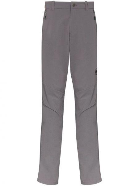 Брюки с карманами - серые Mammut