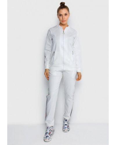 Спортивный костюм белый Malaeva