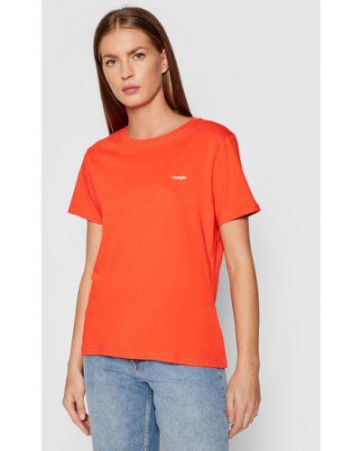 T-shirt - czerwona Wrangler