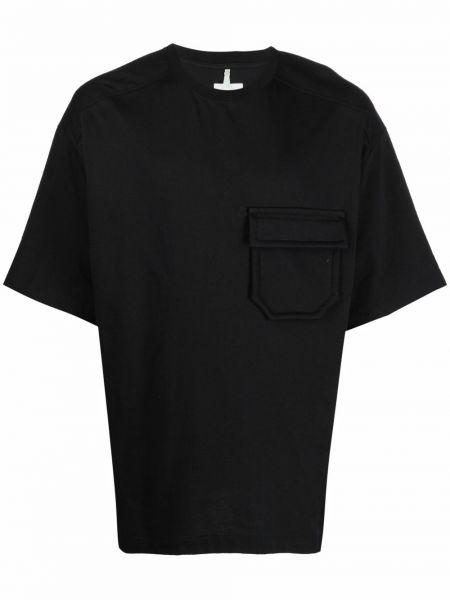 Czarna t-shirt krótki rękaw Oamc