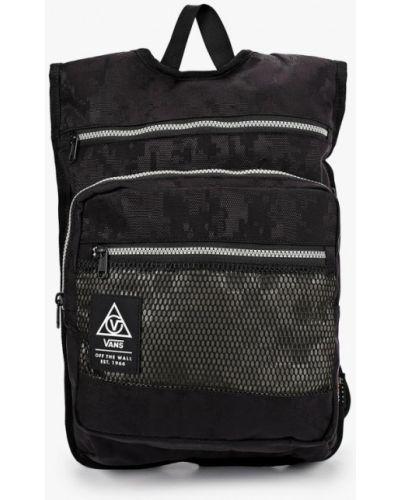 Текстильный черный рюкзак Vans