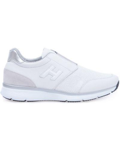 Кроссовки замшевые Hogan