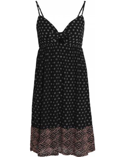 Czarna sukienka mini Splendid