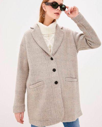 Шерстяное пальто Deha