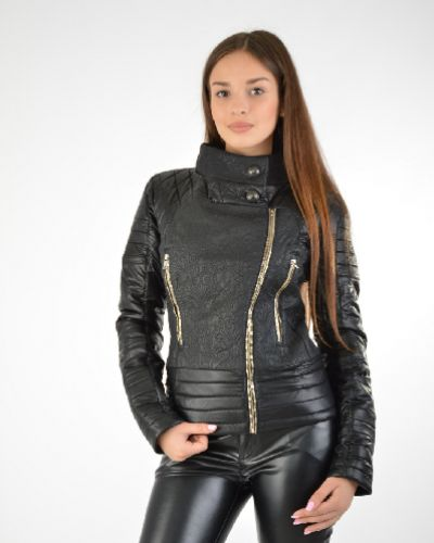 Кожаная куртка - черная 29desires
