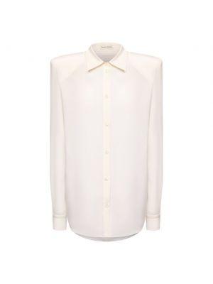 Шелковая рубашка - белая Magda Butrym