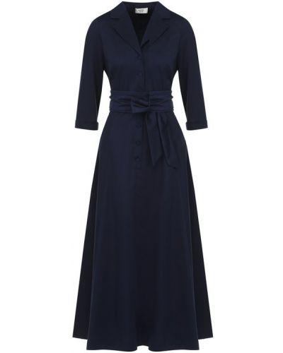 Платье с поясом платье-рубашка хлопковое Weill
