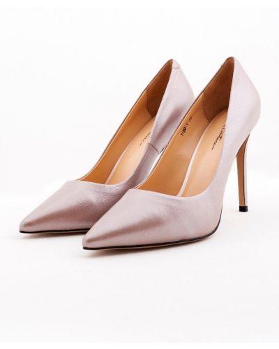 Розовые туфли-лодочки на каблуке на высоком каблуке Just Couture