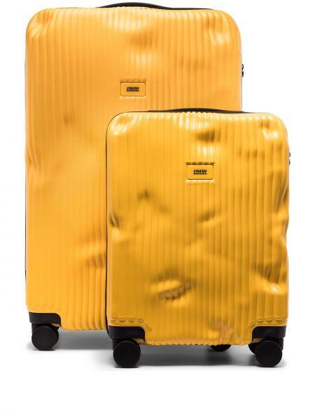 Walizka żółty Crash Baggage