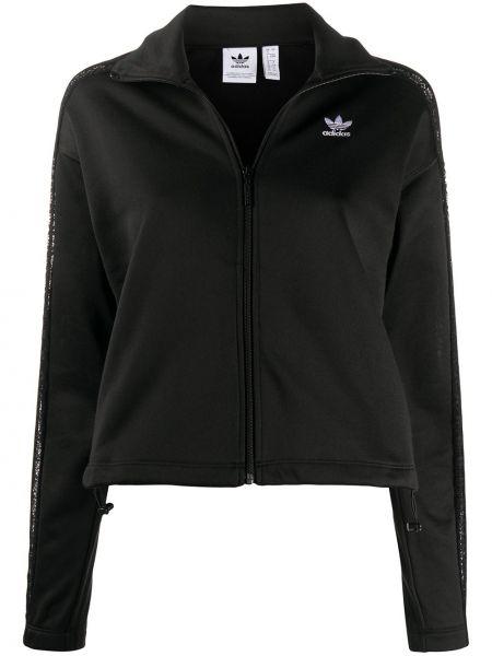 Длинная куртка с вышивкой спортивная Adidas