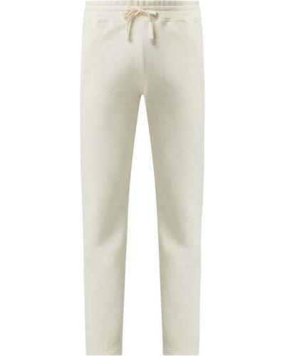 Białe spodnie bawełniane Armedangels