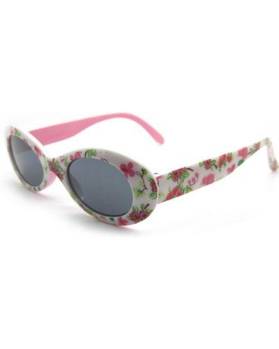 Белые солнцезащитные очки в цветочный принт Gamestyle
