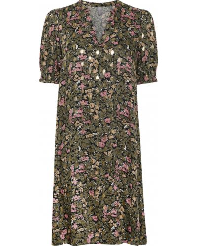 Sukienka midi casual - zielona Culture