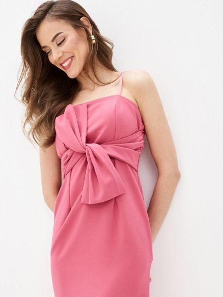 Розовое вечернее платье Rinascimento