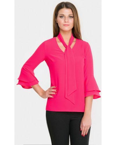 Блузка с длинным рукавом розовая польская Sa.l.ko