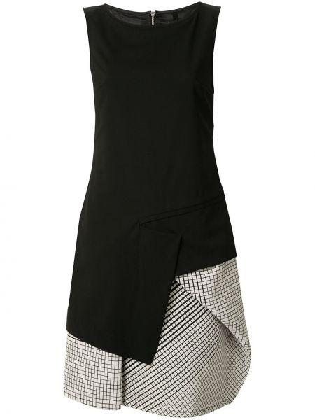 Шерстяное платье миди - черное Taylor