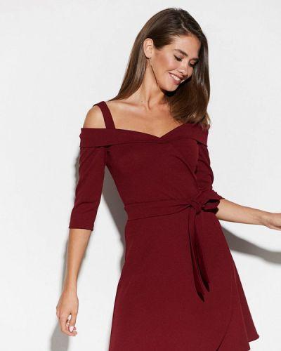 Бордовое вечернее платье Karree