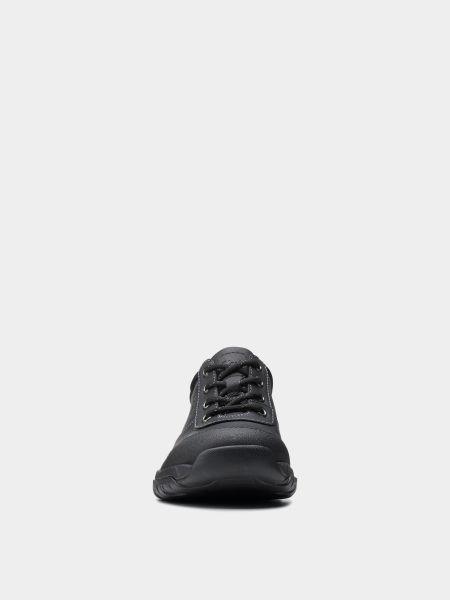 Кожаные полуботинки - черные Clarks