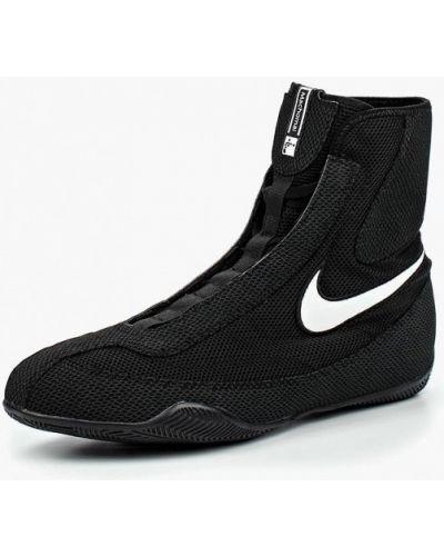 Низкие кеды черные Nike