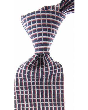 Różowy krawat z jedwabiu Battistoni
