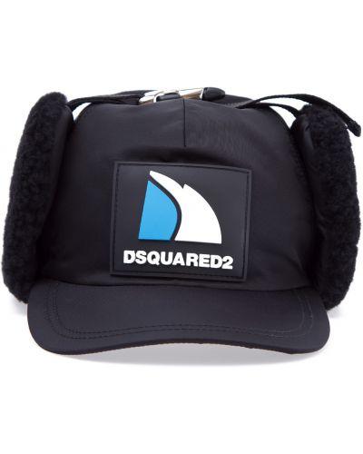 Бейсболка с нашивками Dsquared2