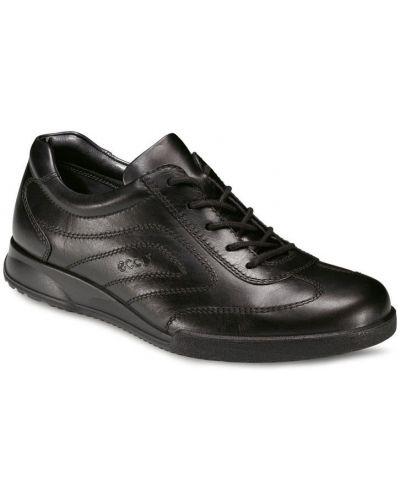 Кожаные полуботинки спортивный на шнурках Ecco