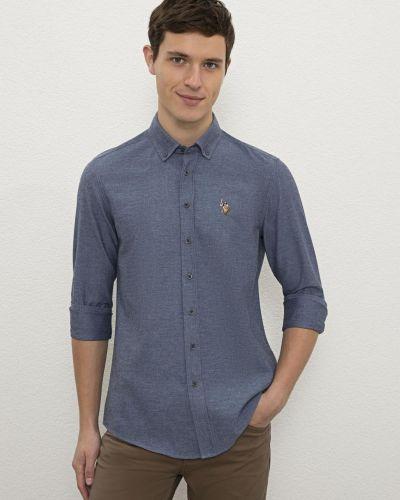 Рубашка - синяя U.s. Polo Assn.