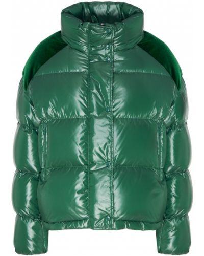 Куртка бархатная нейлоновая Moncler