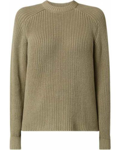 Sweter bawełniany - zielony Modström