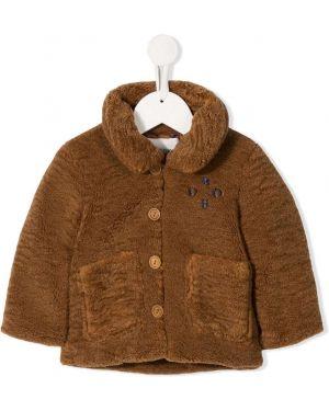 Пальто длинное на пуговицах Bobo Choses