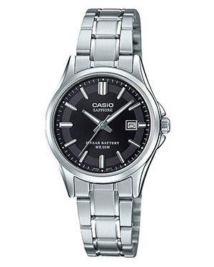 Кварцевые часы черные матовые Casio
