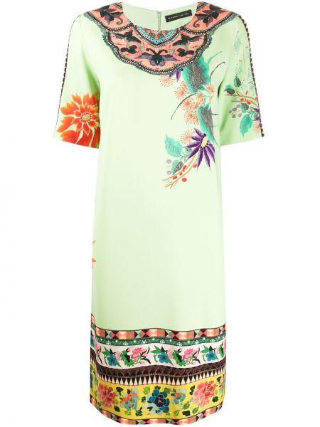 Платье мини миди с цветочным принтом Etro