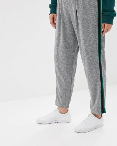 Серые зауженные брюки Studio Untold