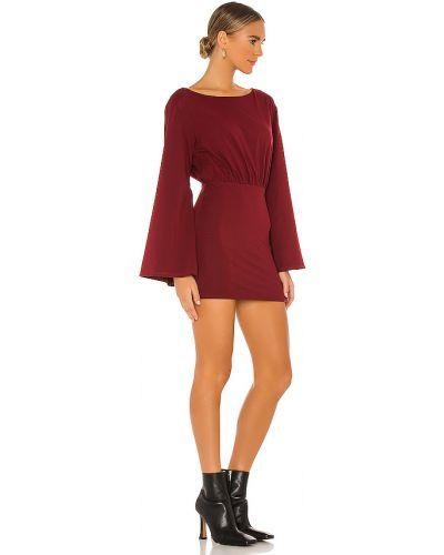 Włókienniczy brązowy bawełna rozbłysnął sukienka mini Majorelle