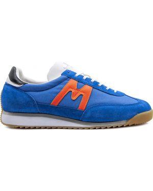 Замшевые кроссовки - синие Karhu