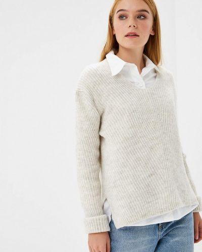 Бежевый пуловер 2018 Adl