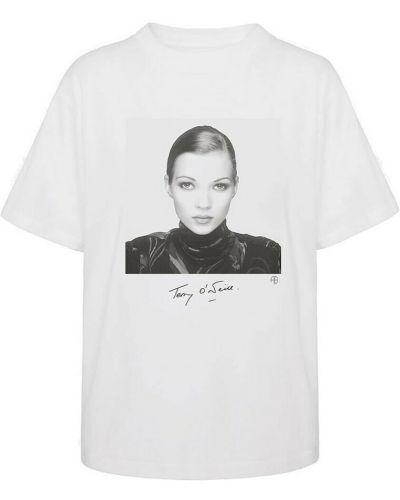 Biała t-shirt Anine Bing