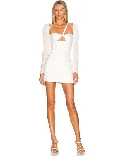 Sukienka asymetryczna - biała Atoir